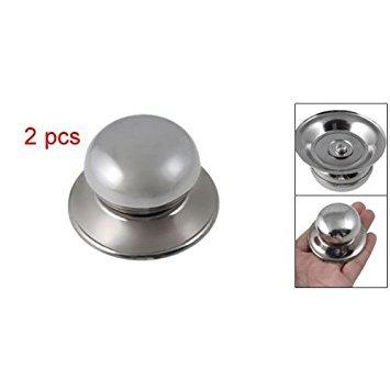 TOOGOOR Universal Replacement Cookware Pot Glass Lid Cover Knob 2pcs