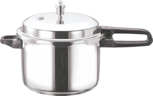 Vinod V-10L Stainless Steel Sandwich Bottom Pressure Cooker 10-Liter