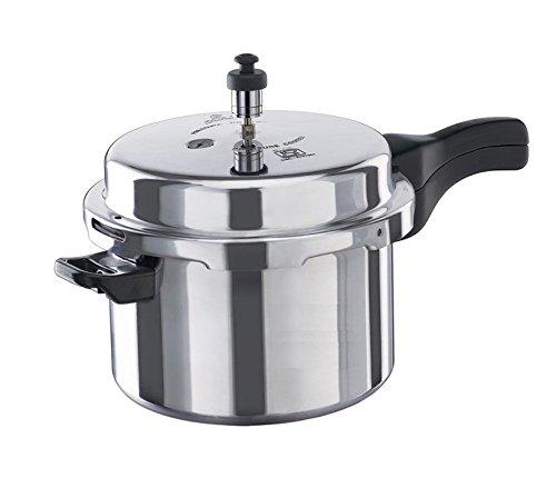 Vinod VA-10L Aluminum Pressure Cooker 10-Liter