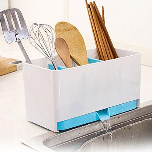 Amrka Kitchen Racks Organizer Storage Case Sink Utensils Holder