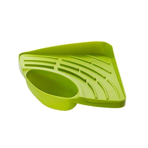Generic Kitchen Sink Caddy Sponge Holder Scratcher Holder Cleaning Brush Holder Sink Organizer Green