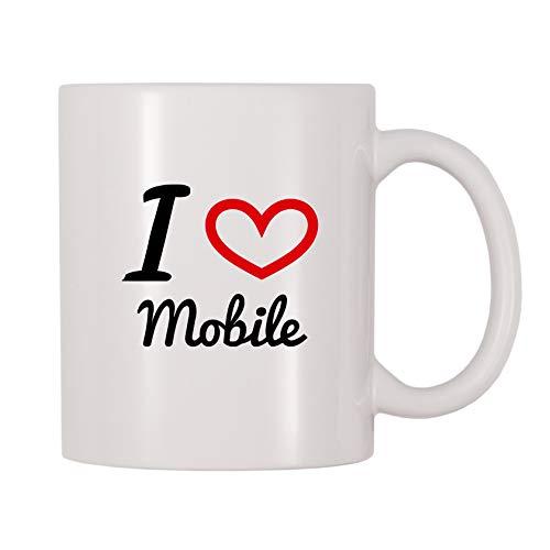 4 All Times I Love Mobile Coffee Mug 11 oz