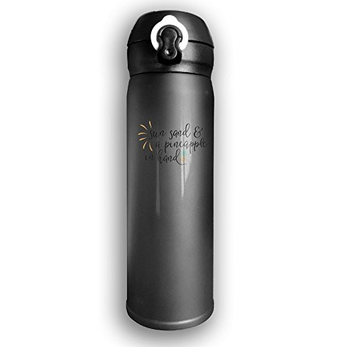 Sun Sand A Pineapple In Hand Stainless Steel Vacuum Double Insulated Thermos Flask 500ml