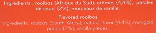 Palais des Thés Signature Tea Blends Collection Rooibos des Vahines Rooibos Tea Almond Vanilla