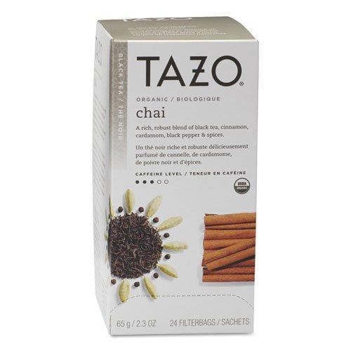 Tazo Organic Chai - 149904 Black Tea-24 Tea Bags-23oz65g