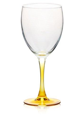 Yellow Stem Wine Glass 10oz