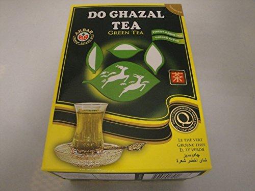 Do Ghazal loose green tea 500-gram box