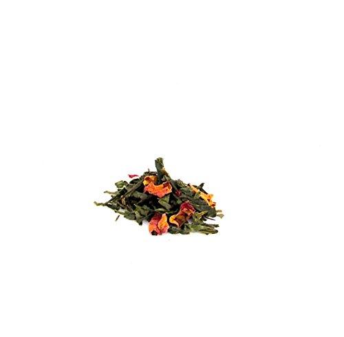 Organic loose leaf Cherry Rose Tea Green tea 8 OZ Edenz Palate