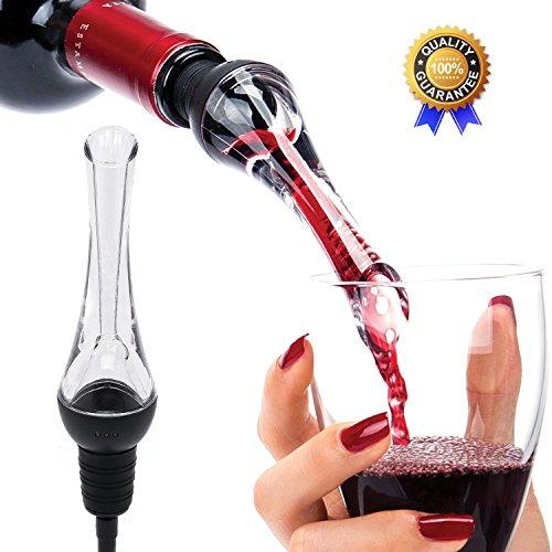 Wine Aerator Pourer Travel Red Wine Aerator Essential Set Quick Aerating Pourer Decanter