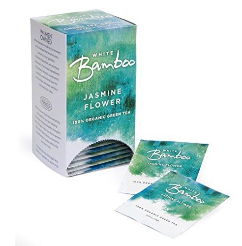 White Lion White Bamboo Organic Green Tea Jasmine Flower 027 Pound