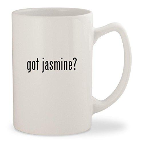 got jasmine - White 14oz Ceramic Statesman Coffee Mug Cup
