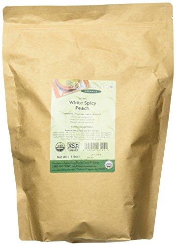 Davidsons Tea Organic White Spiced Peach 16-Ounce Bag