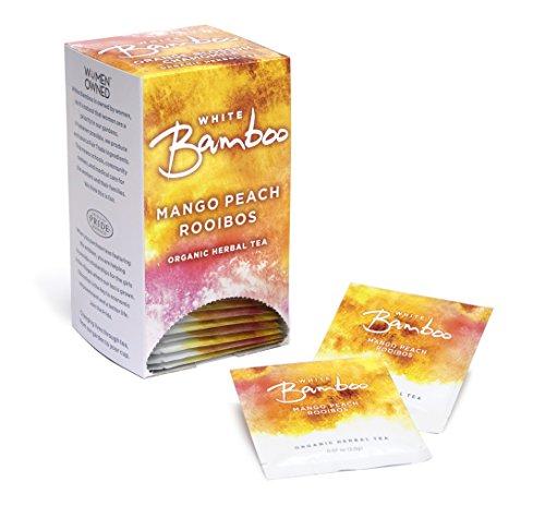White Lion White Bamboo Organic Herbal Tea Mango Peach 027 Pound