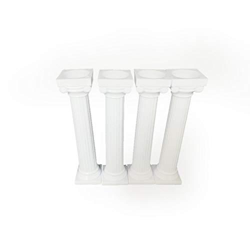 4pcs 125cm Multi-layered Cake Roman Column Support Stand Decor Pillars Wedding Cake DIY Cake Decoration Bracket Support Rod