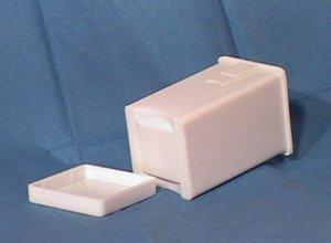 Scandicrafts White Half Stick Butter Spreader