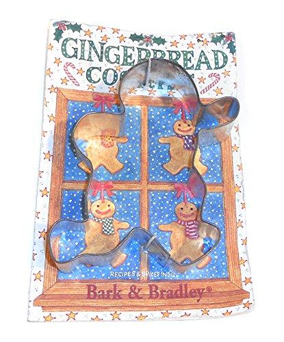 NOS 1994 Vintage Bark Bradley Running Gingerbread Man Cookie Cutter