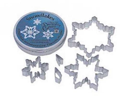 5 Piece Snowflake Cookie Cutter Set William-Sonoma NEW