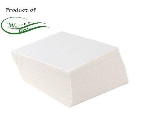 Worthy Liners Parchment Paper Squares 1000 Pieces 5 X 5 Inch