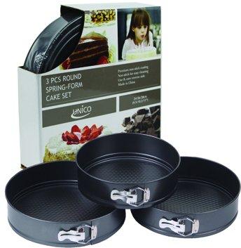 3 Piece Round Springform Pan Set Case Pack 12 Home Kitchen Furniture Decor
