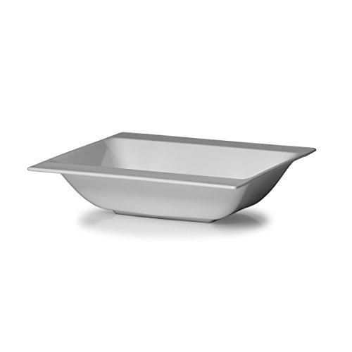 Mikasa Modern White Vegetable Bowl 9-Inch