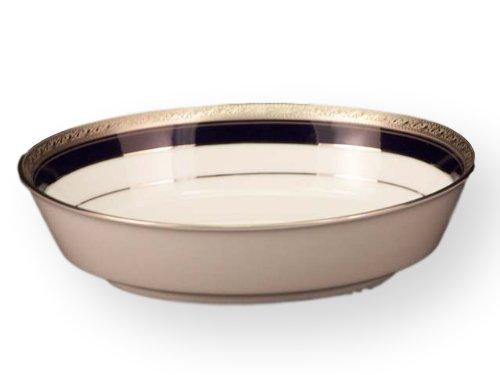 Noritake Crestwood Cobalt Platinum Oval Vegetable Bowl