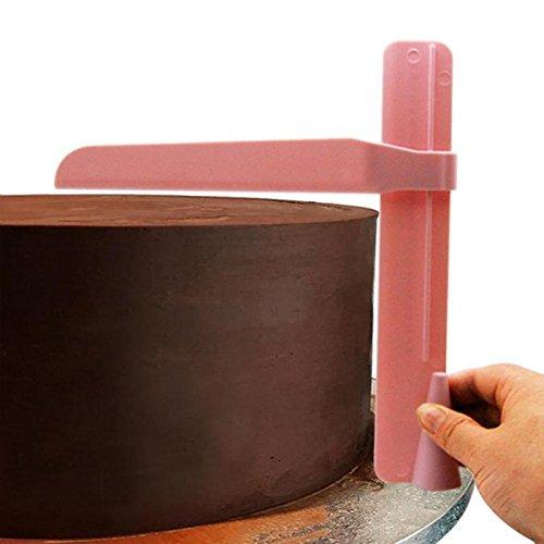 Cake Scraper Adjustable Plastic Cake Smoother Tool Edges Scraper Fondant Butter Cupcake Polisher DIY Cake Cream Spatulas Mold Cake Tools