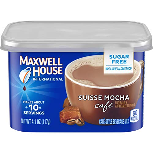 Maxwell House International Café - Suisse Mocha Sugar-Free - 41-oz Packages Pack of 6
