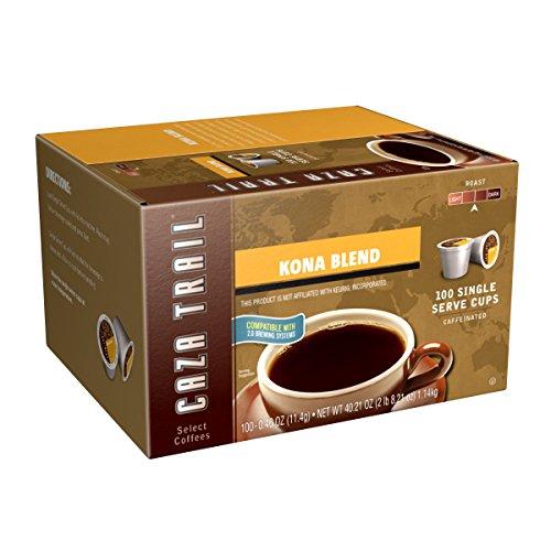 Caza Trail Coffee Kona Blend 100 Single Serve Cups