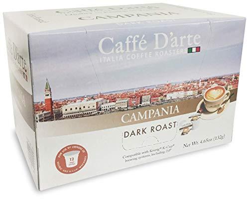 Caffe Darte Single Serve Coffee Campania 12 count