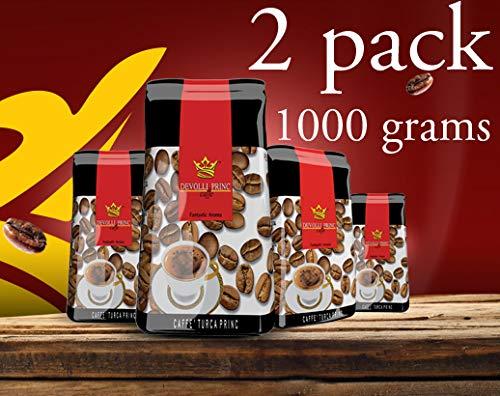 Devolli Princ Caffe Albanian Coffee 500g  2 Pack  Total 1000g