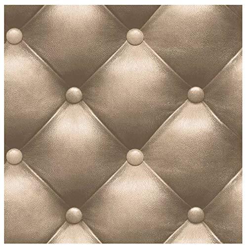 3D Luxury Wallpaper European Style Sofa Tv Background Hotel Cafe Bar Corridor Wall Sticker-Coffee B 10mx053m33ftx174ft