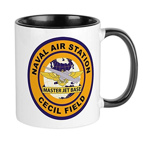 CafePress Naval Air Station NAS - Cecil Field - Master Jet B Unique Coffee Mug Coffee Cup