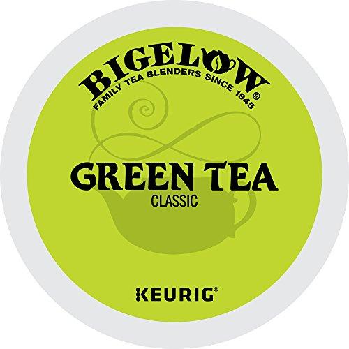 Bigelow Keurig Single-Serve K-Cup Pods Green Tea 72 Count 6 Boxes of 12 Pods