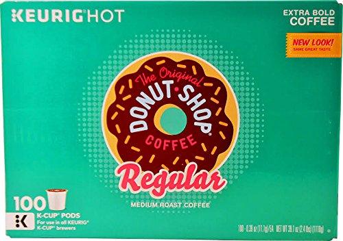 The Original Donut Shop Regular Keurig Single-Serve K-Cup Pods Medium Roast Coffee 100 COUNT
