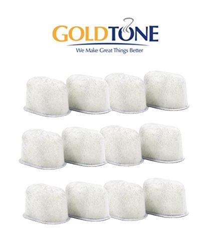 GoldTone Brand Water Softening Resin Water Filter fits Keurig 10 and Keurig 20 Brewers Replaces your Keurig Ion Exchange Resin Water Filter 12 PACK
