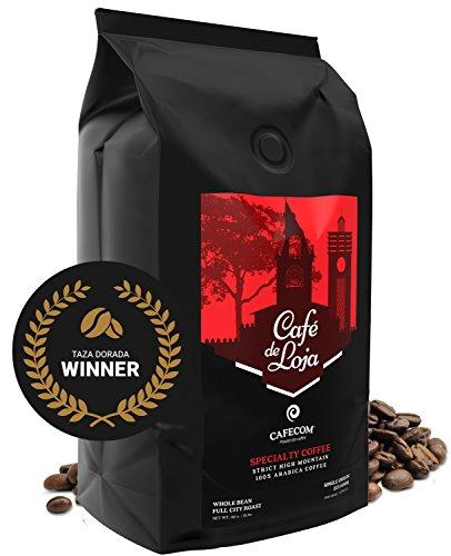 Café de Loja AWARD-WINNING Specialty Coffee Beans MediumDark Roast 2 Lbs Bag - 6398ft High Altitude Single Origin Organic Coffee- Best Arabica Whole Bean Coffee For Espresso Drip and more