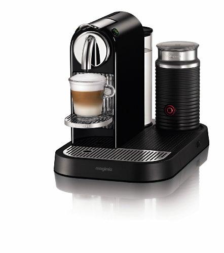 Nespresso CitiZ D120 Automatic and programmable Espresso and Lungo Machine wFrother Black