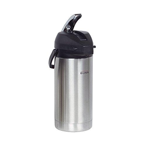 BUNN 367250000 38-Liter Lever-Action Airpot Stainless Steel