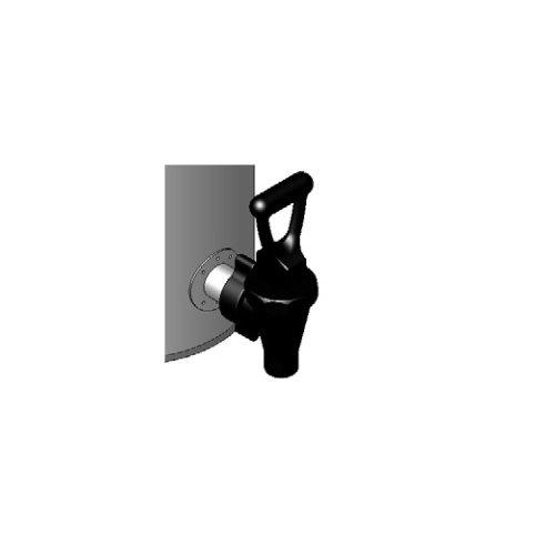 Bunn 032600003 Blank Faucet Assembly Plastic Black