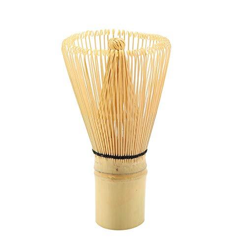 Matcha Green Tea Whisk Natural Bamboo Tea Whisk Chasen Preparing Matcha Powder Brush Tool Tea Traditional Scoop100 Prongs
