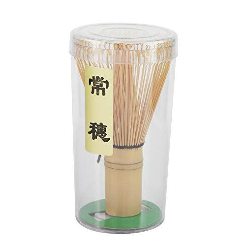 Neufday-Natural Bamboo Tea Whisk Chasen Preparing Matcha Powder Brush Tool64 Prongs