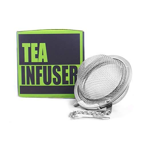 Tea Ball Infuser Tea Strainer Ball Strainer Tea Filter Tea Maker Tea Ball Stainless Steel Stainless Steel Food Grade Mesh  Perfect for Brewing Loose Leaf Tea  2 Units