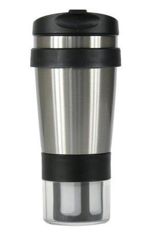 Tea Infuser Travel Mug With Tea Bag Storage by Tea Totaler