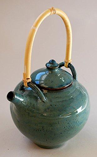 Sea Blue Green Teapot