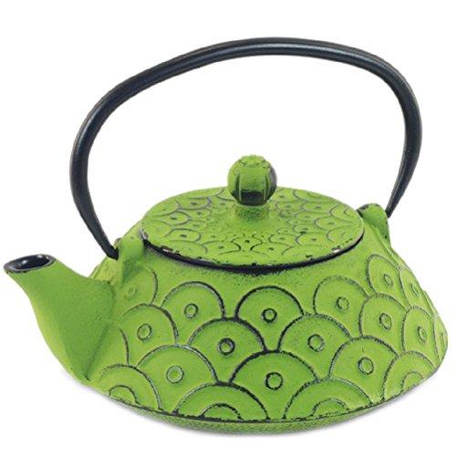 Tetsubin Green teapot Japanese 08 liter