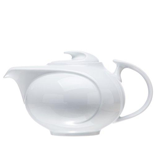 White Porcelain TEAPOT 2 Size Restaurant&Hotel Quality 40 oz