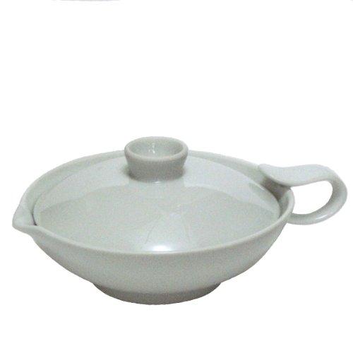White porcelain teapot 676H 110cc squeeze porcelain japan import