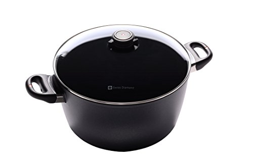 Swiss Diamond Induction Nonstick Stock Pot - 85 qt 11