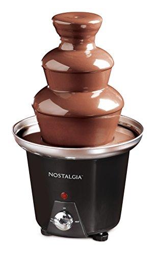 Nostalgia CFF965 3-Tier 15-Pound Chocolate Fondue Fountain