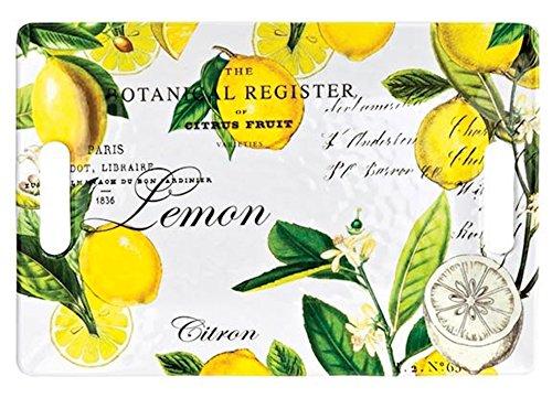 Michel Design Works Melamine Serving Tray Medium Lemon Basil